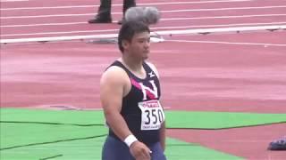 3 宮内 育大 高 知 日本大 17m63 男子 砲丸投 決勝 □競技時刻 : 2014/06...