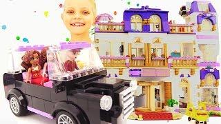 Видео для девочек - Конструктор Lego. Игра в Гранд отель