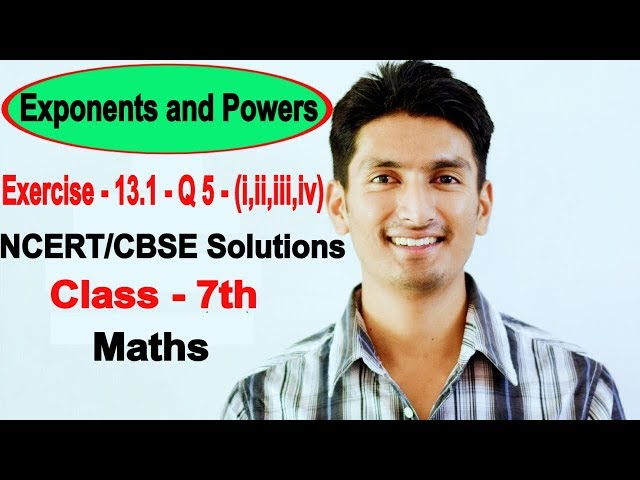 Chapter 13 Exercise 13.1 Question 5 - Exponents and Powers Class 7 Maths - NCERT Solutions