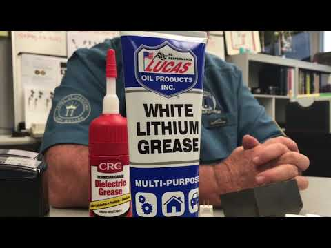 White Lithium Grease vs. Dielectric Grease