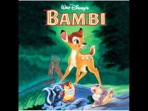 Bambi OST - 03 - Exploring/Through the Woods/Say Bird/Flower