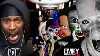 YOU BETTER PLAY THEIR GAMES OR ELSE! | Emily Wants To Play 2 (Full Game Ending)