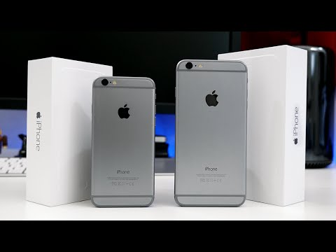 Apple iPhone 6 vs iPhone 6 Plus - Dual Review!