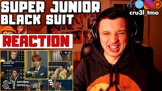 CLASS ACT (SUPER JUNIOR 슈퍼주니어 'Black Suit' MV | REAC…