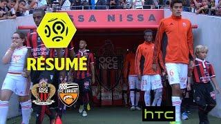 OGC Nice - FC Lorient (2-1)  - Résumé - (OGCN - FCL) / 2016-17