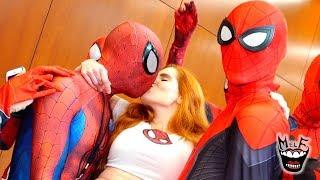 Spider-Man: SPIDER-VERSE Takes COMIC CON Invasion!! Ft. TORONTO COMICON!!