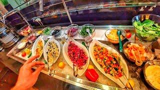 Дубай Шведский стол ШОК Чем кормят туристов Обзор отеля Flora Grand Hotel 4