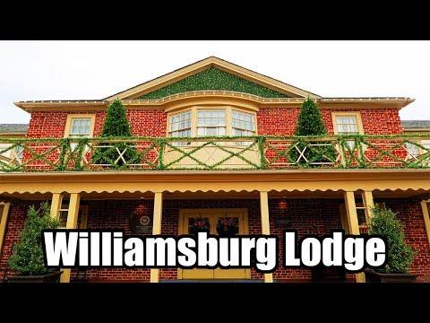 Williamsburg Lodge Review & Room Tour, Colonial Williamsburg Virginia!