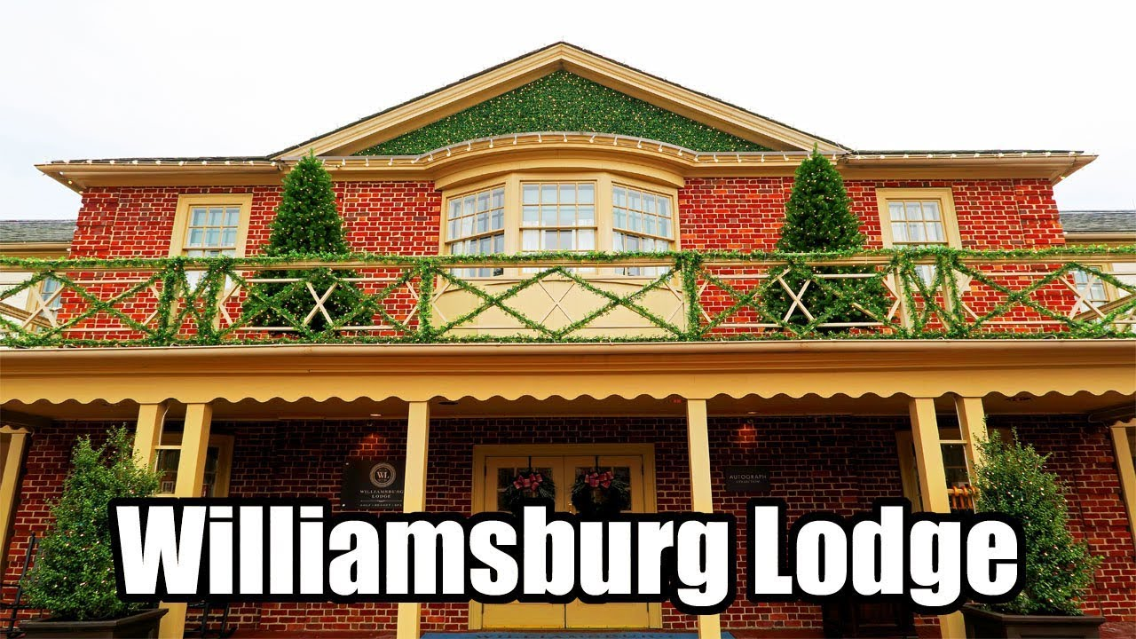 Williamsburg Lodge Review & Room Tour, Colonial Williamsburg ...