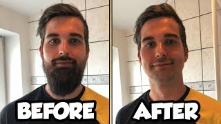 Gripex - I FINALLY SHAVED MY BEARD!