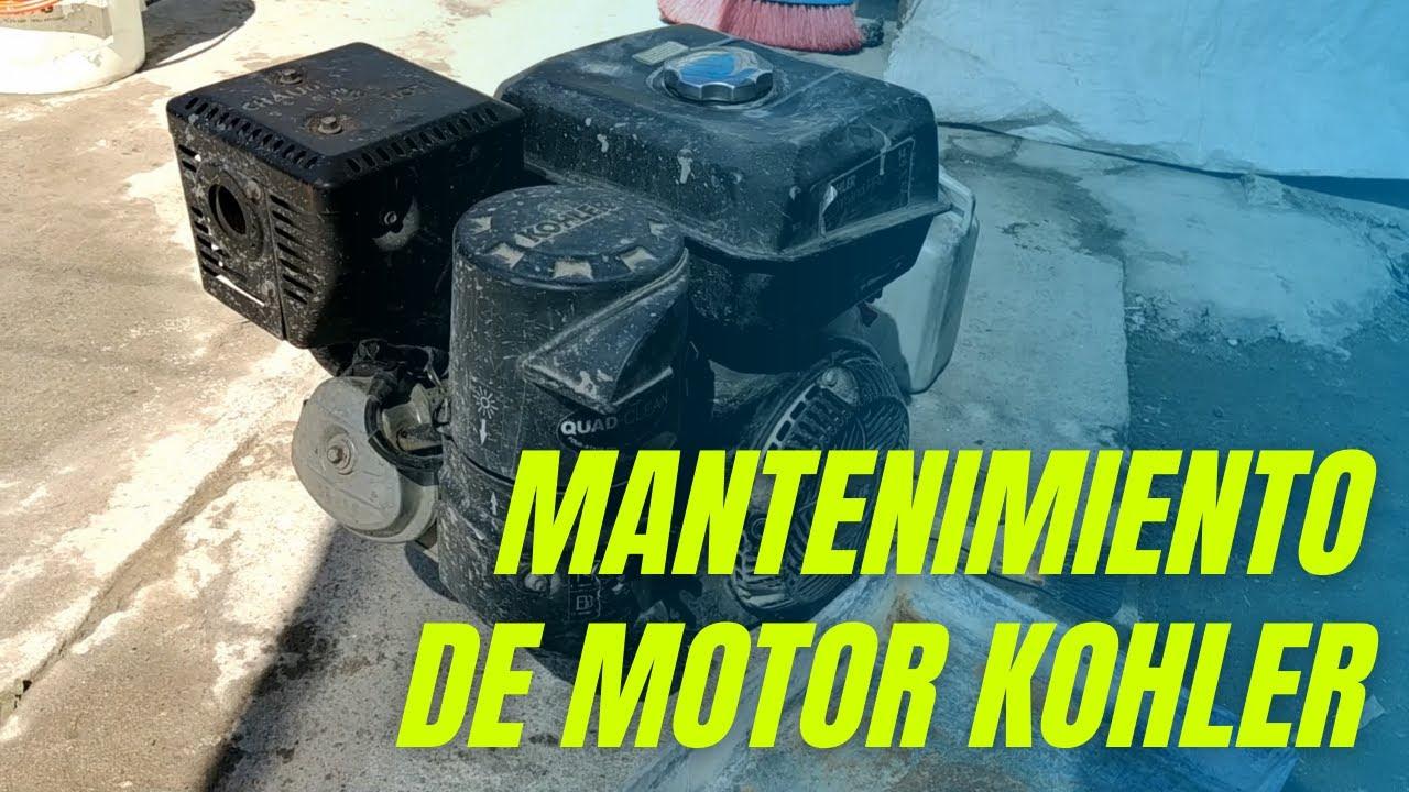 MANTENIMIENTO DE UN MOTOR KOHLER
