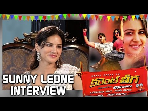 Sunny Leone Interview | Current Theega | Manchu Manoj | Rakul Preet | Achu