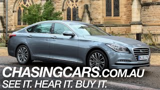 Hyundai Genesis Review –$60,000 for all this?