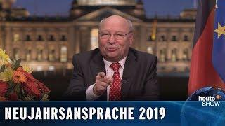 Die ehrliche Neujahrsansprache für 2019 – von Gernot Hassknecht