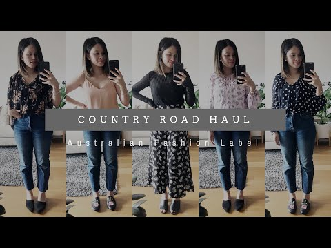 COUNTRY ROAD HAUL AND TRY ON | Australian Fashion Label | The Issa Edit