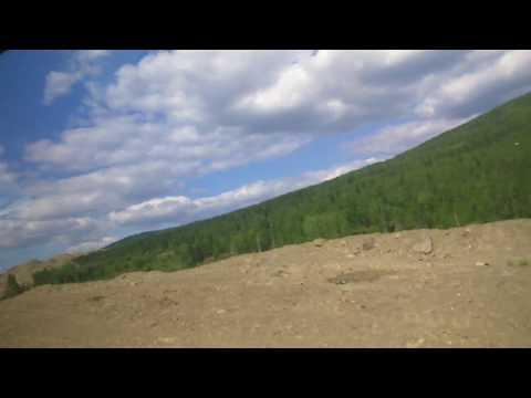 Золотодобыча, прииски. Север Иркутской области. Бодайбо