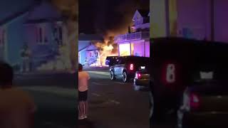 Fire rips through Jersey Shore home after SUV ignites in driveway
