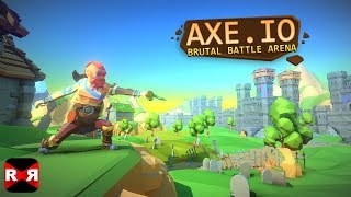 AXE.IO (by Crescent Moon Games) - iOS / Android - Early Gameplay