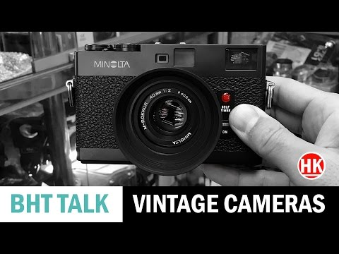 Vintage Camera Shopping in Hong Kong