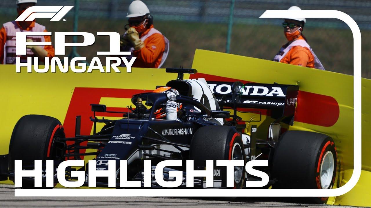 FP1 Highlights: 2021 Hungarian Grand Prix