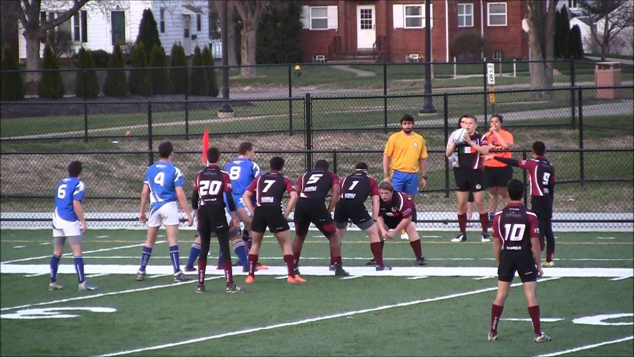 2016 04 17 Rocky River Black Pirate Rugby Vs Brunswick 2nd Half