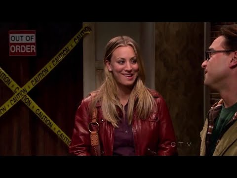The Big Bang Theory - Leonard and Penny experiment with dating.