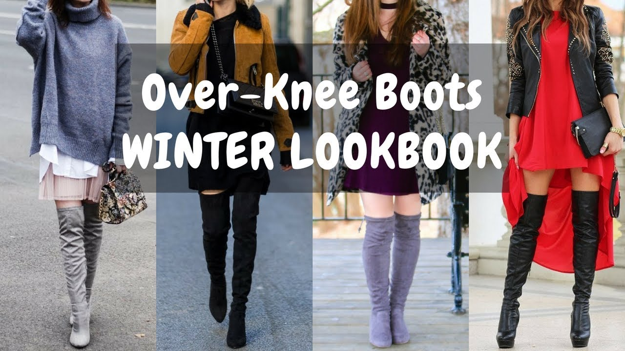 How to Wear Over-Knee Boots / Long Boots - WINTER LOOKBOOK 1