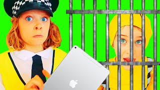 15mins BIGGY THE POLICEMAN iPad Pretend Play w/ The Norris Nuts