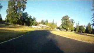 125cc shifter kart drifting.....It almost ends up bad