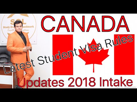 Canada Student Visa Requirements Changed Yes or No|2017-2018 intakes | How to apply