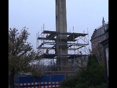Снос памятника в Польше