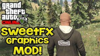 GTA 5 PC Mods - SweetFX Graphic Mod, Gameplay + Comparison (Gta 5 Pc Mod Download)
