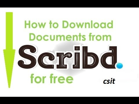 How to Download Free Books From Scribd | Read and Download Online Audio  Books free
