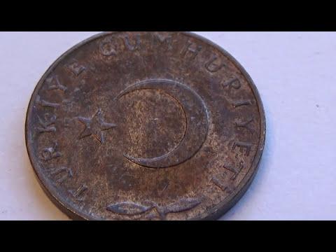 A 1967 Turkiye 5 Kurus Coin