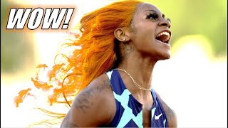 Sha'Carri Richardson DOMINATES The United States Olympic Trials With UNTOUCHABLE Performance!