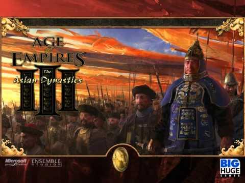 世紀帝國3 遊戲音樂/ Age Of Empires III Bgm