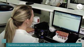 Notícias/Reportagens - Agosto 2020 - Cientistas pedem votação de marco regulatório de pesquisa  - 13/08/20