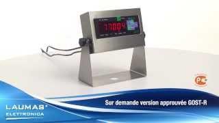 WEIOIML -- Indicateurs de pesage d'entrée de gamme en acier inox IP67 -- LAUMAS