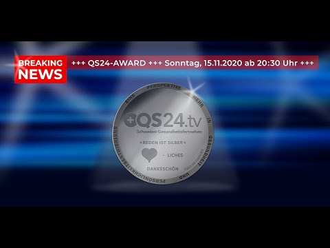Premiere: The first QS24 Award ceremony | QS24 Swiss health television