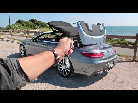 S63 AMG Convertible ROADTRIP! VLOG #78
