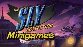 Let's Play: The Sly Collection Mini-Games - YouTube