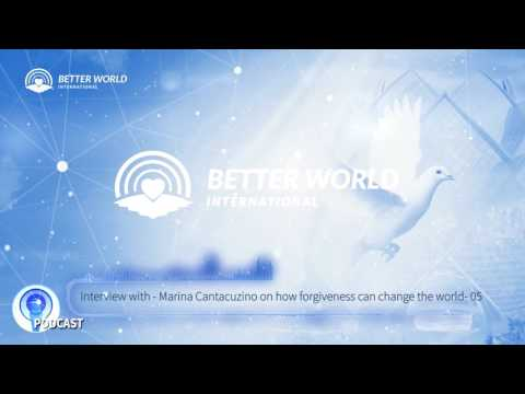 How forgiveness can change the world: Podcast with Marina Cantacuzino