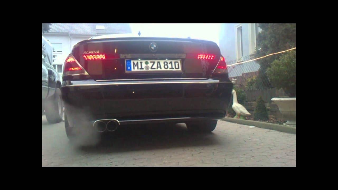 BMW 745i E65 ALPINA Tuning Habe nicht voll durch getretenzu