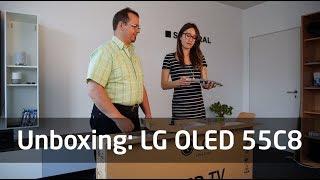 Unboxing: LG OLED 55C8