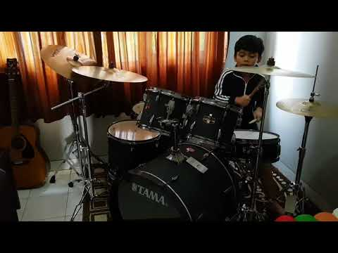Superman Lucky Laki drum cover by Nirwa