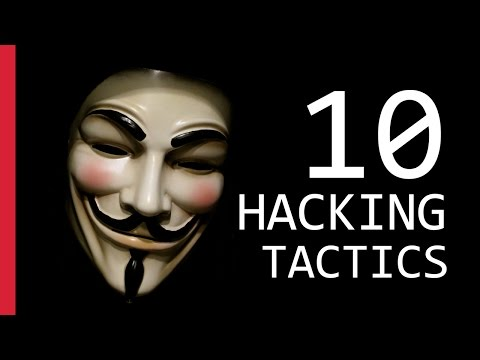 10 Hacking Tactics You Should Know Of