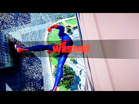 GTA 5 Epic Wasted Compilation SPIDERMAN Flooded Los Santos ep.65 (Funny Moments)