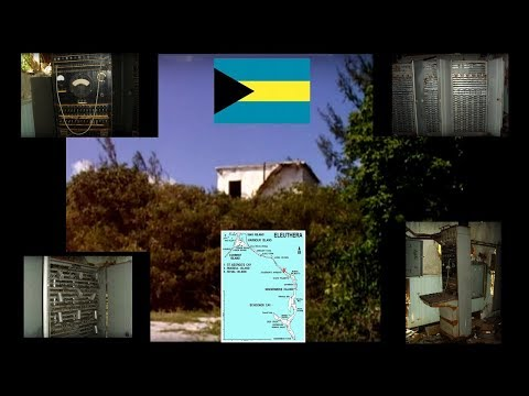 Abandoned Bahamas Cold War Era U.S. Naval Base Communications Building