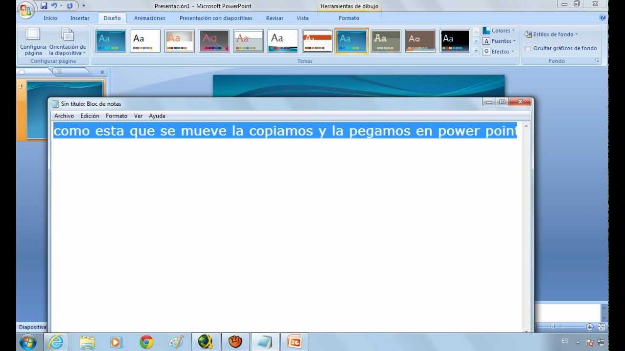 Como poner una animacion gif en power point youtube - Como poner una mosquitera ...