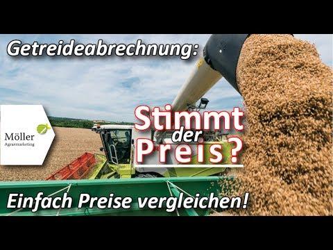 Atemberaubend Gerstenernte 2019 - Gerstenpreis und Getreideabrechnung #SN_16